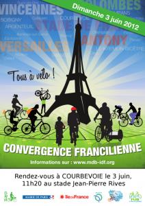 Affiche de la Convergence 2012